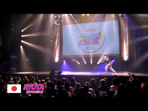 【GDC 3rd】GATSBY DANCE COMPETITION 2010-2011:JAPAN FINAL/RYOTA