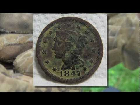 treasure - Treasure Hunters -5, We checked out two farms in southeastern PA. Found coins from 1847 on up. The farms also produced alot of false signals, witch was frust...