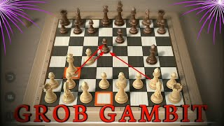 Video JEBAKAN CATUR  ~GROB OPENING (GROB GAMBIT) !!! MP3, 3GP, MP4, WEBM, AVI, FLV Mei 2019