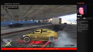 Grand Theft Auto V - Mission binging with Brad and Alan