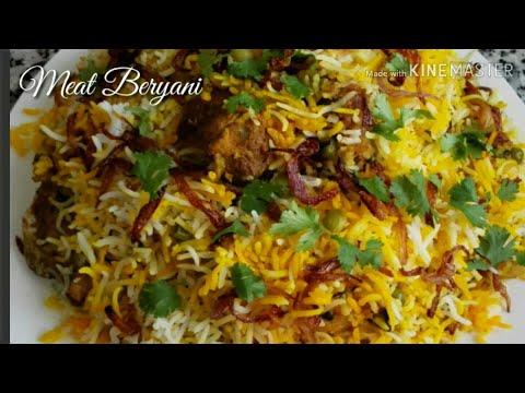 Beryani Laham  homestyle Recipe Arabic dish