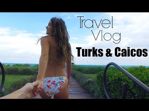 TRAVEL VLOG | Turks & Caicos!