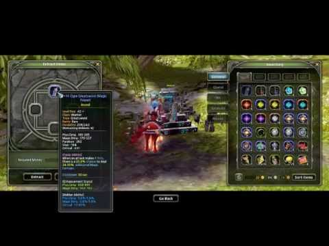 Dragonnest Extracting +14 lvl 40 orge greatsword for science