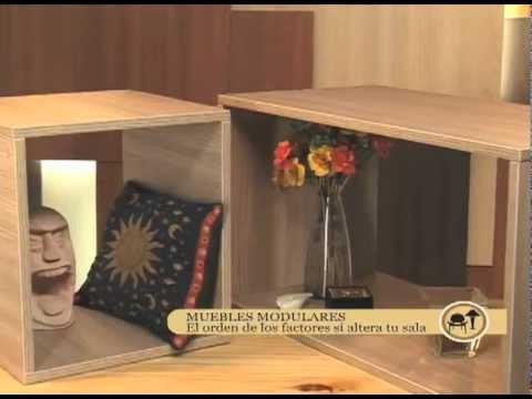 Cómo hacer muebles modulares