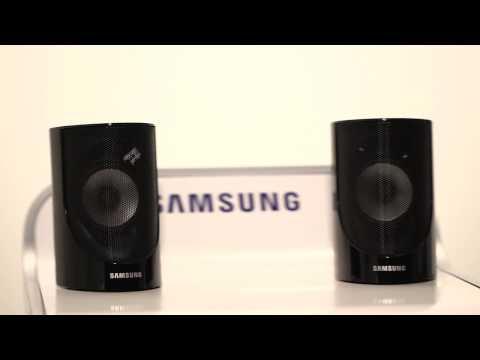 Samsung Heimkino-System: Positionierung der Lautsprecher