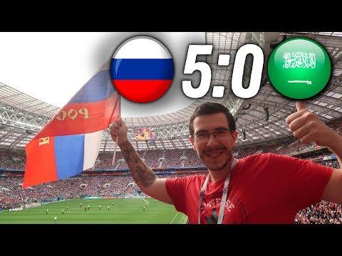 Россия - Саудовская Аравия 5:0 | Как это было | 14.06.2018 - DomaVideo.Ru