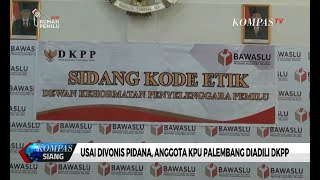 Video Usai Divonis Pidana, 5 Komisioner KPU Palembang Diadili DKPP MP3, 3GP, MP4, WEBM, AVI, FLV Juli 2019