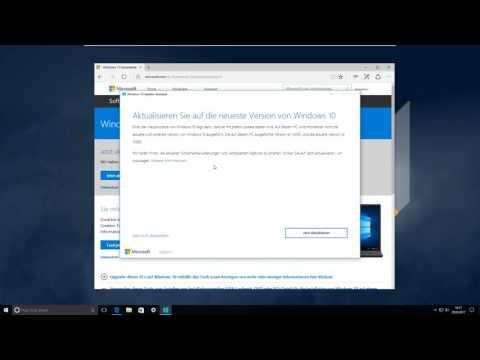 Anleitung: Windows über Upgrade-Assistenten aktualisieren