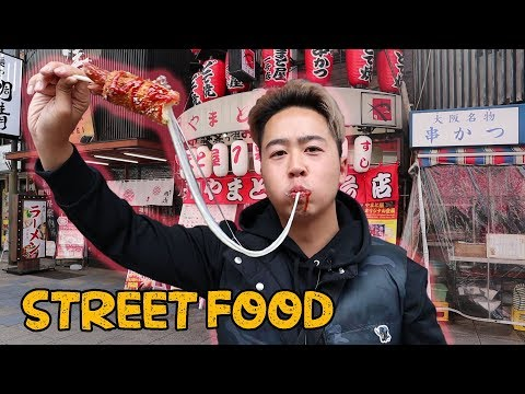Ultimate Street Food Adventure In Japan | Dotonbori