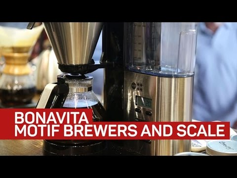 Meet the new Motif line of advanced coffee machines