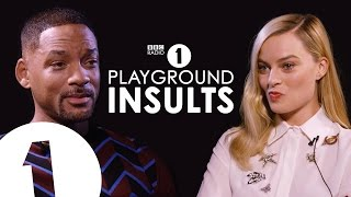 Video Will Smith & Margot Robbie Insult Each Other | CONTAINS STRONG LANGUAGE! MP3, 3GP, MP4, WEBM, AVI, FLV Maret 2019