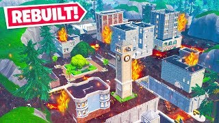 WE BROUGHT BACK TILTED TOWERS *NEW* Game Mode in Fortnite Battle Royale