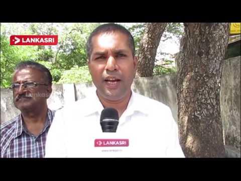 The-demonstration-in-Vavuniya