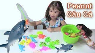 Bé Peanut Học Tiếng Việt Bé Học Tên Gọi Con Vật & Màu Sắc / Câu Cá &Mở Đồ Chơi Búp Bê Learn Colors.