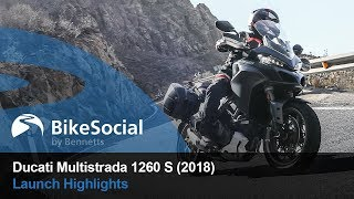 9. Ducati Multistrada 1260 S (2018) - Launch Highlights |BikeSocial