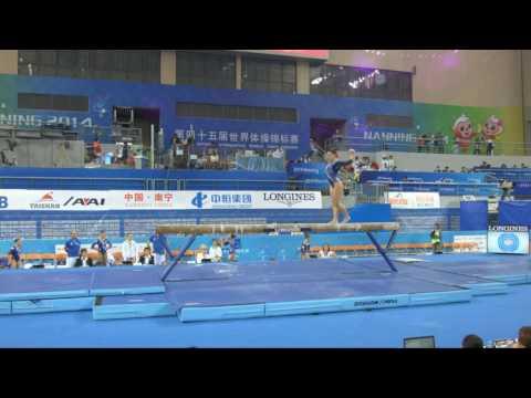 Trave di Erika ai Mondiali di Nanning