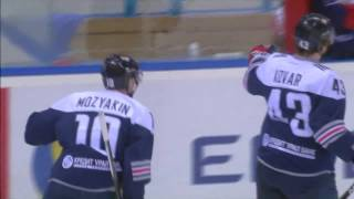 Mozyakin scores his 37th of the season, updating KHL all-time record