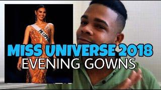 Video Miss Universe 2018 - Evening Gowns (Analysis) MP3, 3GP, MP4, WEBM, AVI, FLV Desember 2018