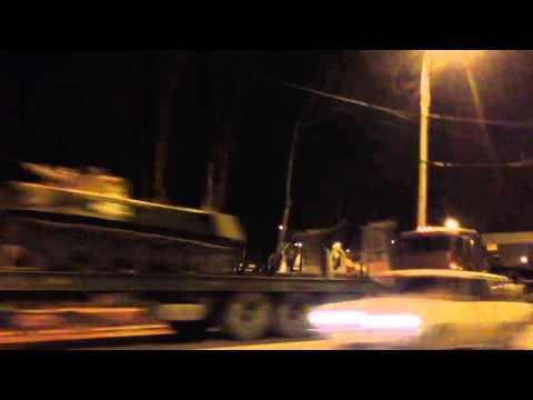 СРОЧНО: Бронетехника в Новороссийске