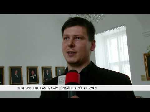 """TV Brno 1: 22.1.2017 Projekt """"DÁME NA VÁS"""" přináší letos několik změn."""