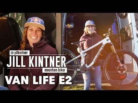 Inside the Van Life of Pro Mountain Biker Jill Kintner.   Van Life Episode 2 (видео)