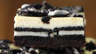 Cookies & Cream Brownie Cheesecake Bars by Tasty