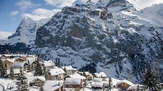 Murren Switzerland  city pictures gallery : A Walk Through Mürren, Switzerland