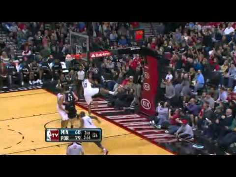 Batum blocks, Aldridge dunks on the Timberwolves