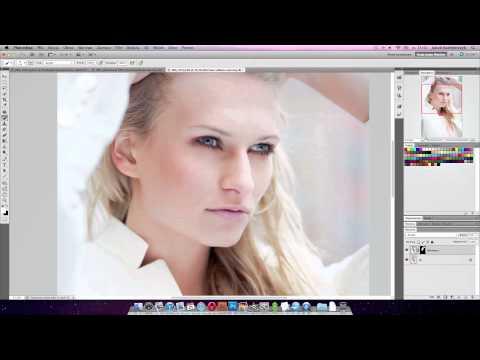 Retusz kobiecego portretu - poradnik wideo