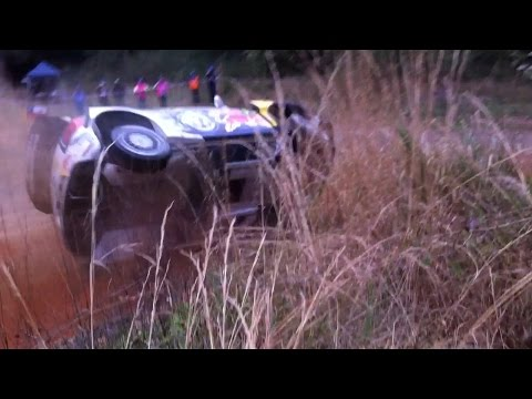 Vídeo Ogier a dos ruedas en el shakedown WRC Rallye Australia 2015