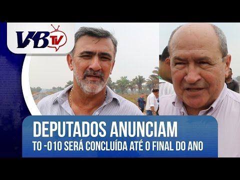 VBTv | Rodovia TO-010 ser� conclu�da at� o fim do ano