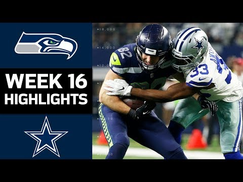 Seahawks vs. Cowboys | NFL Week 16 Game Highlights (видео)