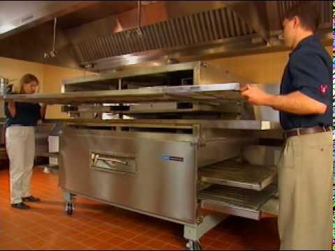 impinger-Lincoln-Kettenbandofen-Durchlauf, Pizzaofen.us Pizzaoven.de frini ofen forno