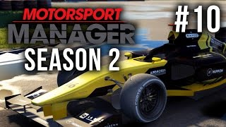 Motorsport Manager Season 2 Gameplay Walkthrough Part 10 - CRAZY LAST RACE & PROMOTION AGAIN ???