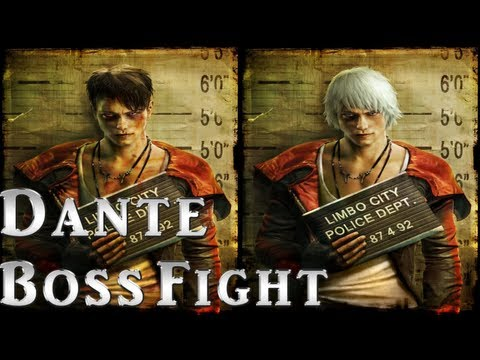 Dmc Devil May Cry 5 Dante Boss Fight Gameplay Demo E3 Show 2012 - Cam