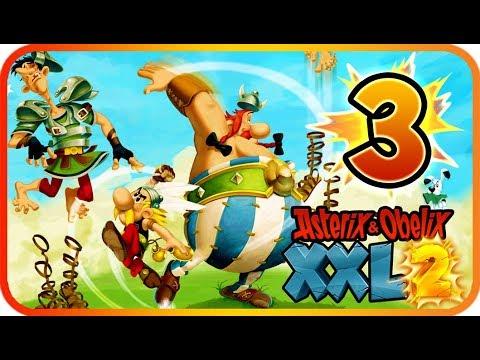 Asterix & Obelix XXL 2 Walkthrough Part 3 Remaster (PS4, XB1, PC, Switch) Boss + Lutetia (2nd part)