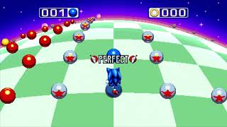 I'm making a playlist of all bonus stages (i.e. the blue sphere stages that are entered from posts) for Sonic Mania in groups of 4 ...