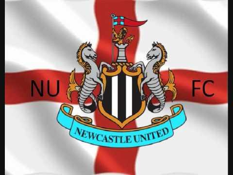 Newcastle United - Black N White