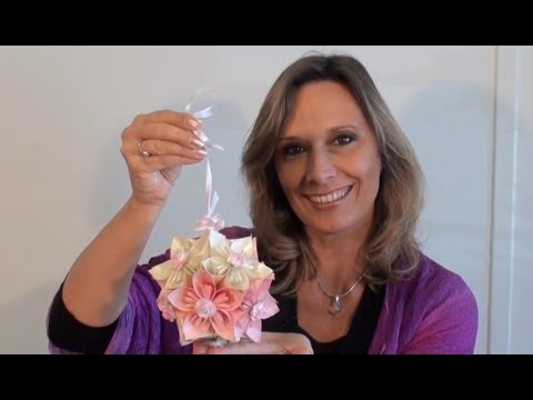 Ideen mit Herz - Blütenkugel - Fleurogami