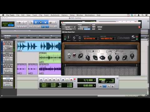 Pro Tools 11 Tutorial | Adding Electric Guitar Using Eleven