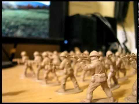 Plastic Army Men StopMotion Animation
