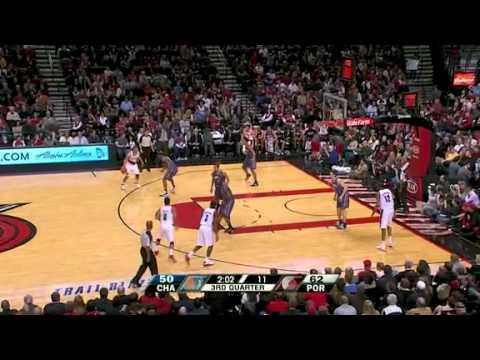 Charlotte Bobcats 69 – Portland Trail Blazers 93