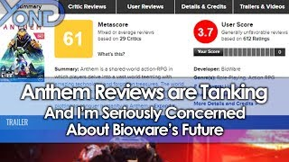 Anthem Reviews are Tanking, and I'm Seriously Concerned About Bioware's Future