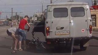 Юные гонщики или детям скутер не игрушка