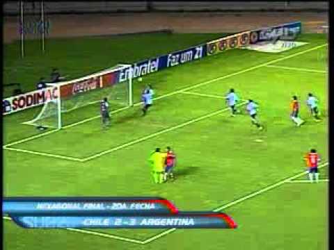 Goles de Facundo Ferreyra a Chile (Sudamericano Sub-20 Perú 2011)