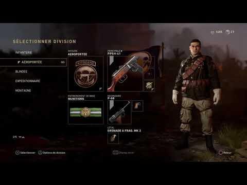 Call of Duty WWII : Comment changer l'uniforme de son personnage