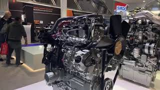 Perkins® Syncro 2.2 tractor engine on show Agritechnica