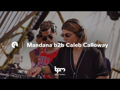 Mandana b2b Caleb Calloway @ The BPM Festival Portugal 2018 (BE-AT.TV)