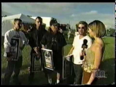 Creed Interview @ EdgeFest 2000 (видео)