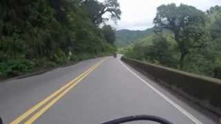 Riding through Argentina